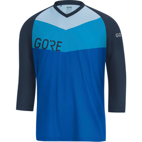 GORE WEAR C5 All Mountain 3/4 Jersey Herre dynamic cyan/marine blue